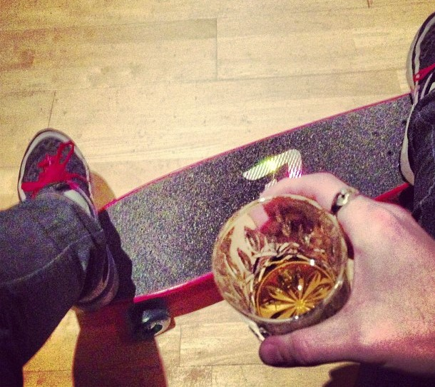 Adrian Harris: Whisky, Skateboards and food