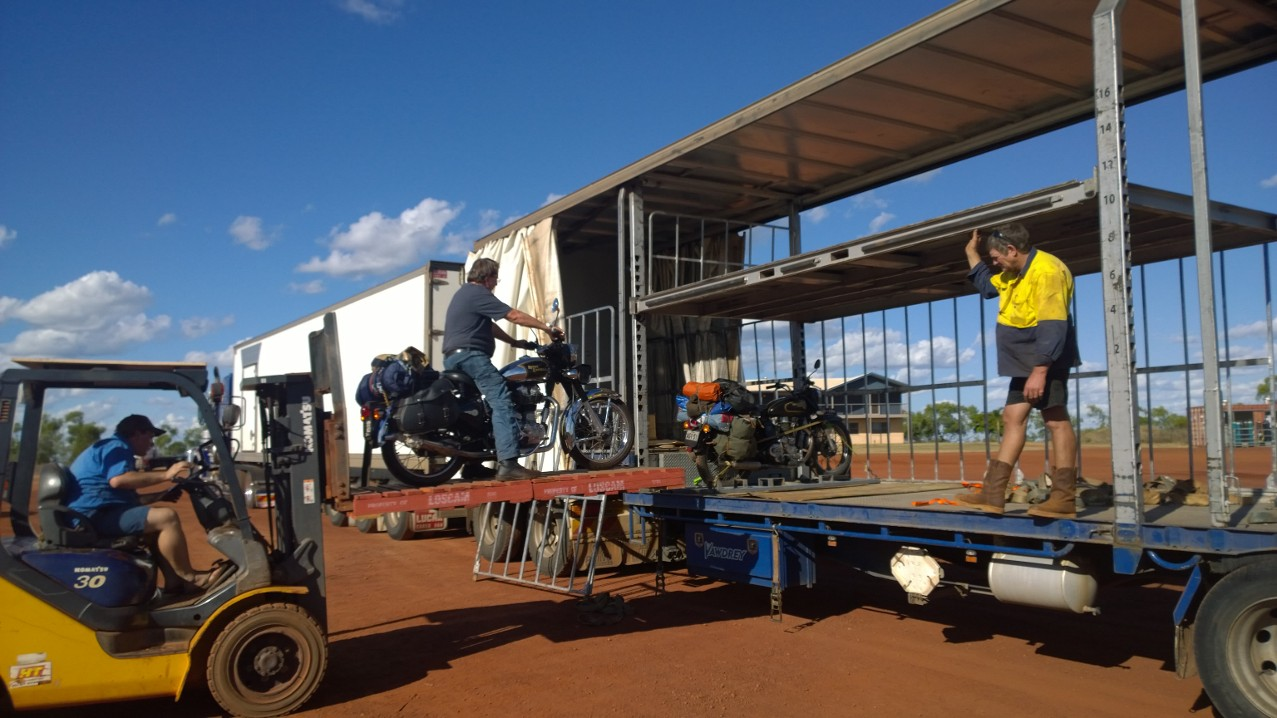 When you are moving one bike on a 56m long rig... why not take two?