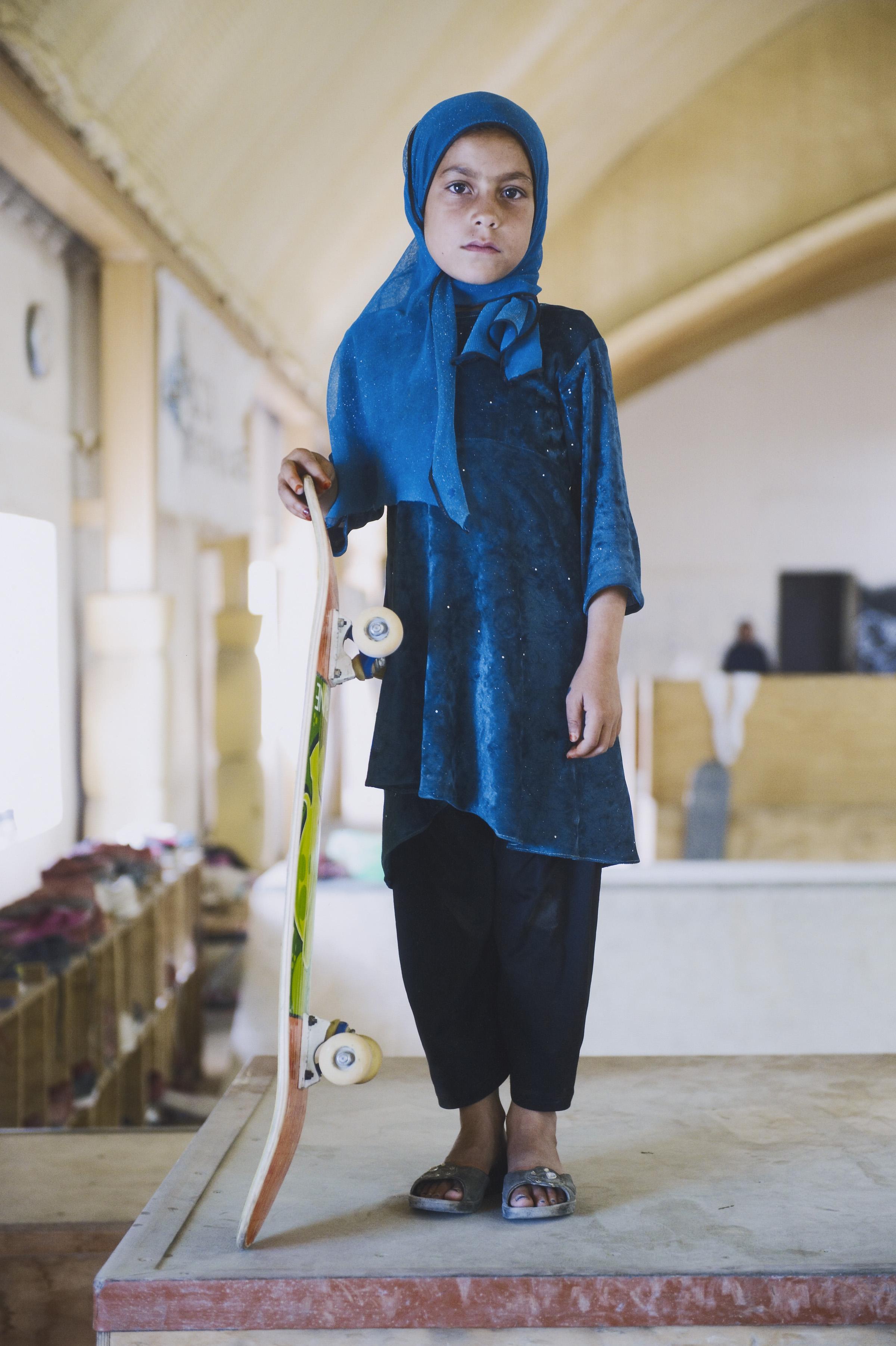 Skate Girl by Jessica Fulford-Dobson, 2014