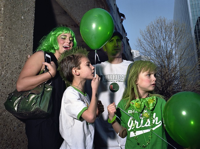 Mark Neville, St.Patricks Day, 2012
