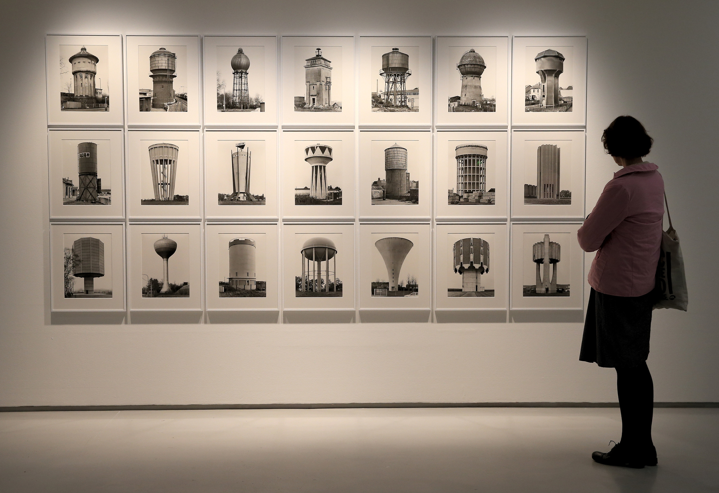 Bernd & Hilla Becher, Constructing Worlds installation © Chris Jackson_Getty Images