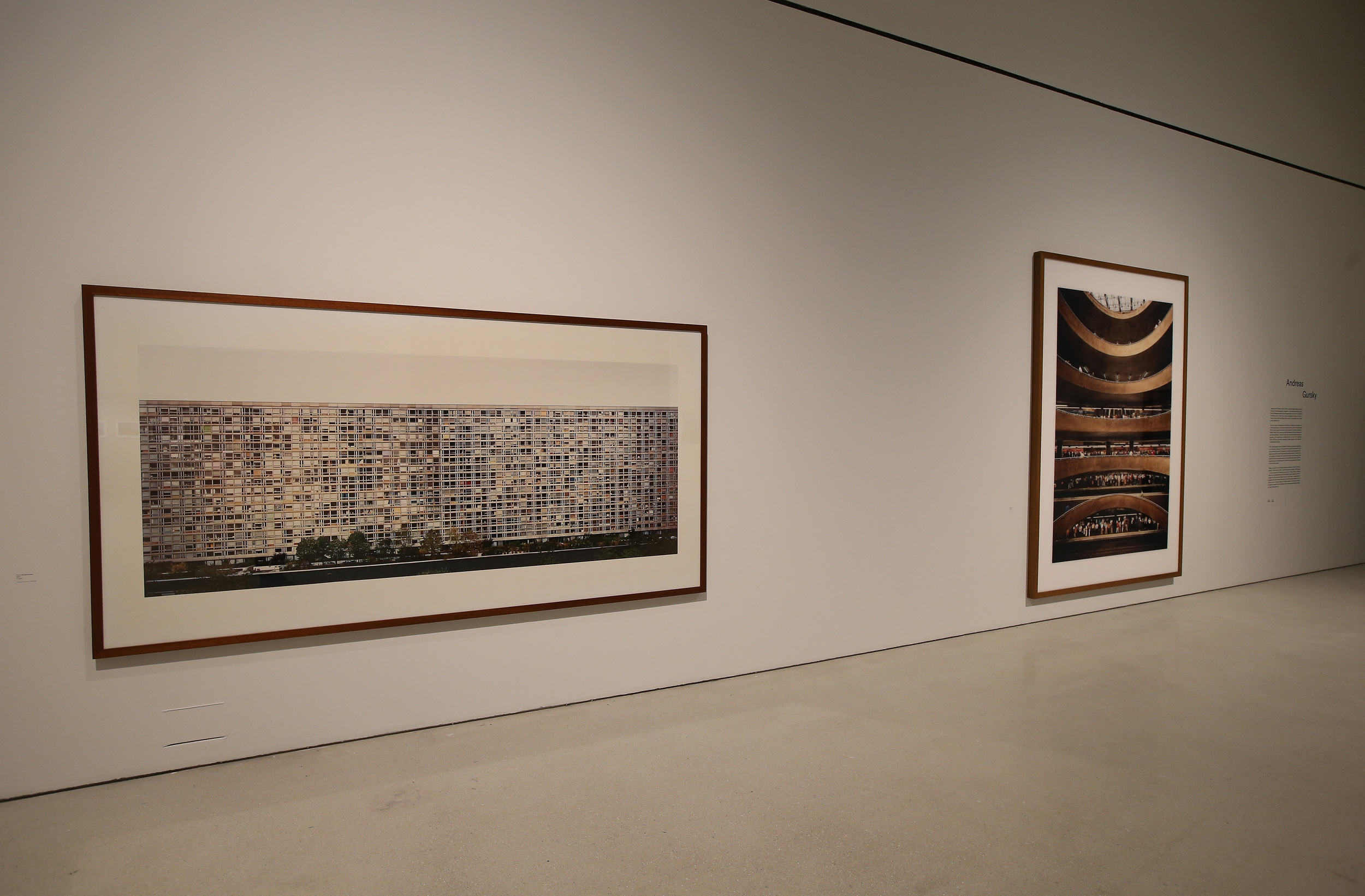Andreas Gursky, Constructing Worlds installation© Chris Jackson_Getty Images