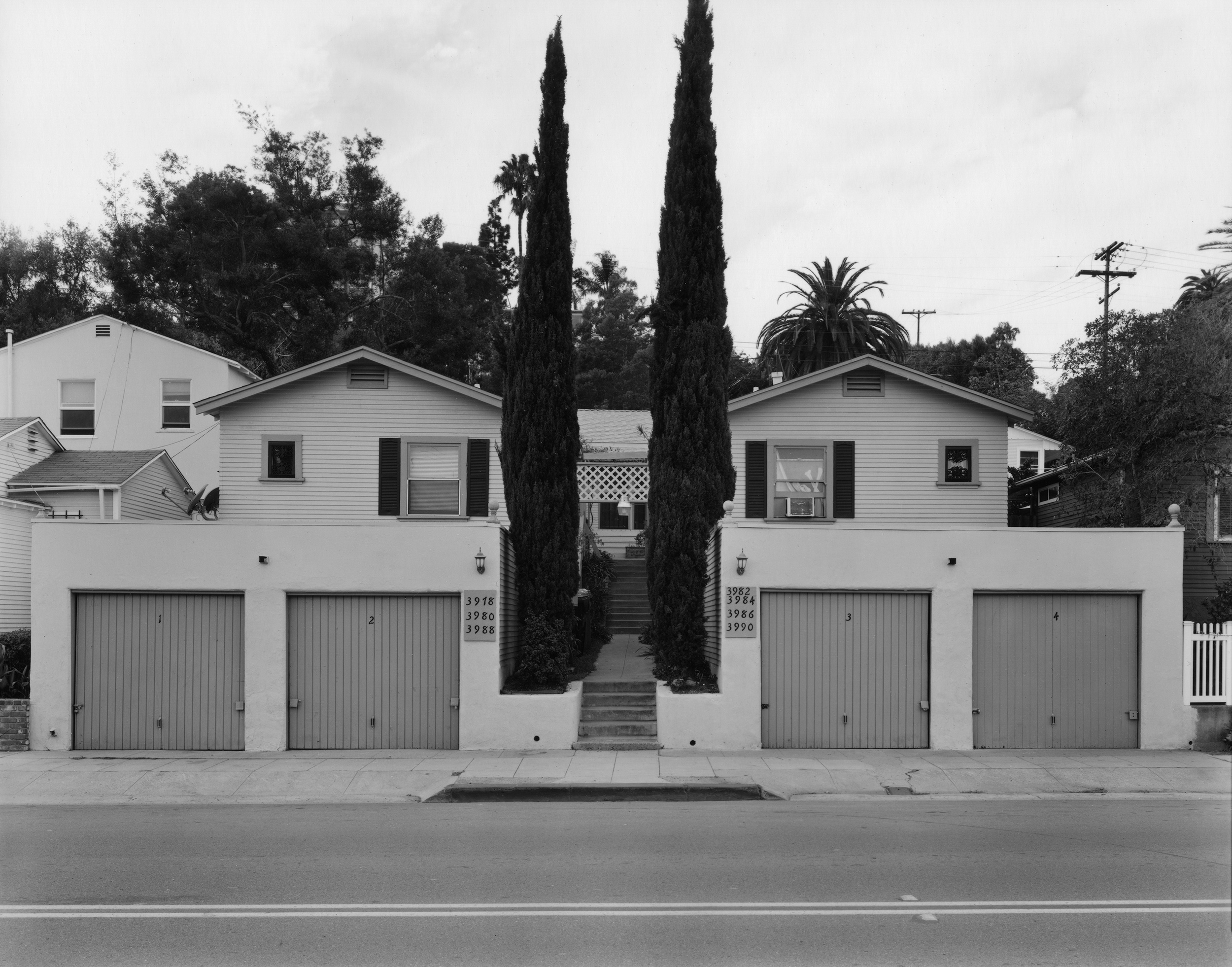 Michael Mulno, Mutil-Unit Residence Florida Street, University Heights, San Diego, CA 2014 gelatin silver contact print 8 x 10 inches