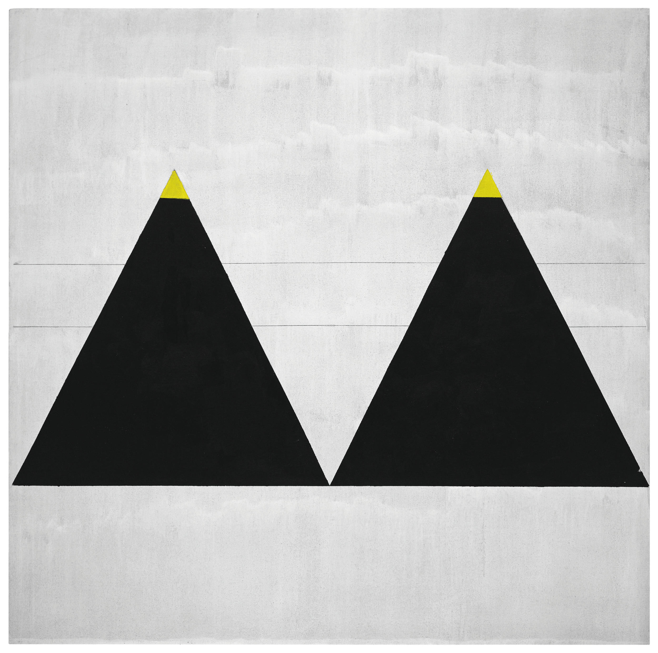Untitled #1 2003 by Agnes Martin. Photographs courtesy of the Estate of Agnes Martin/Tate Modern