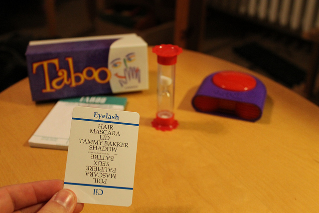 Taboo by elPadawan [CC-BY SA 2.0], via Flickr. View the original image  here