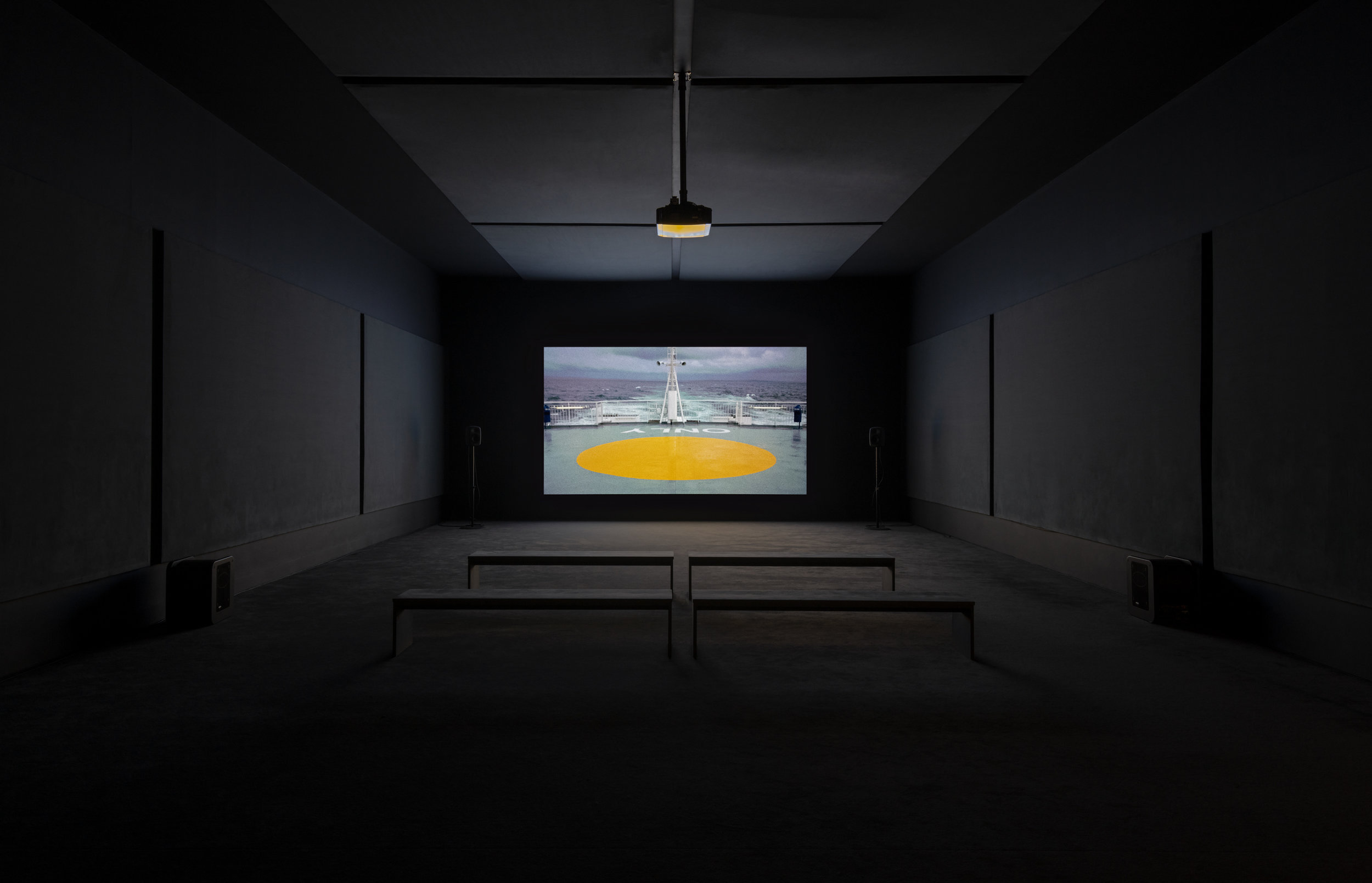 Charlotte Prodger, BRIOGIT20l 6, single-channel HD video. Turner Prize 2018 exhibition installation view, Tate Britain (26 September 2018 - 9 January 2019).