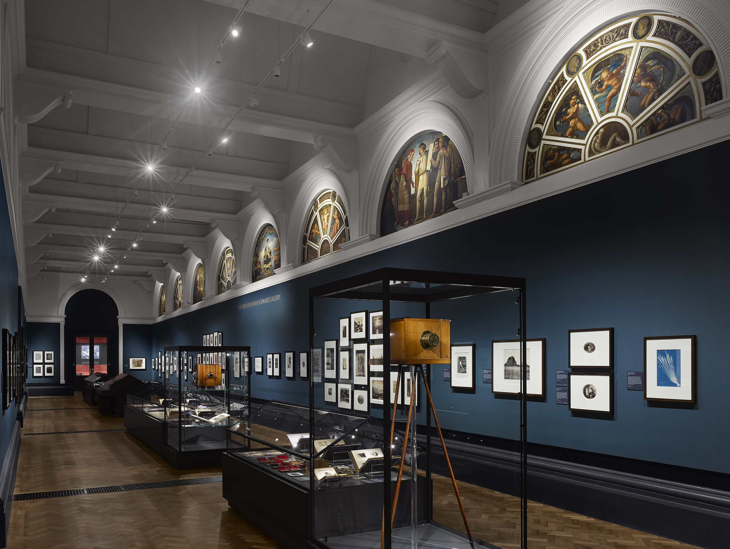 V&A Photography Centre – The Bern and Ronny Schwartz Gallery © Will Pryce