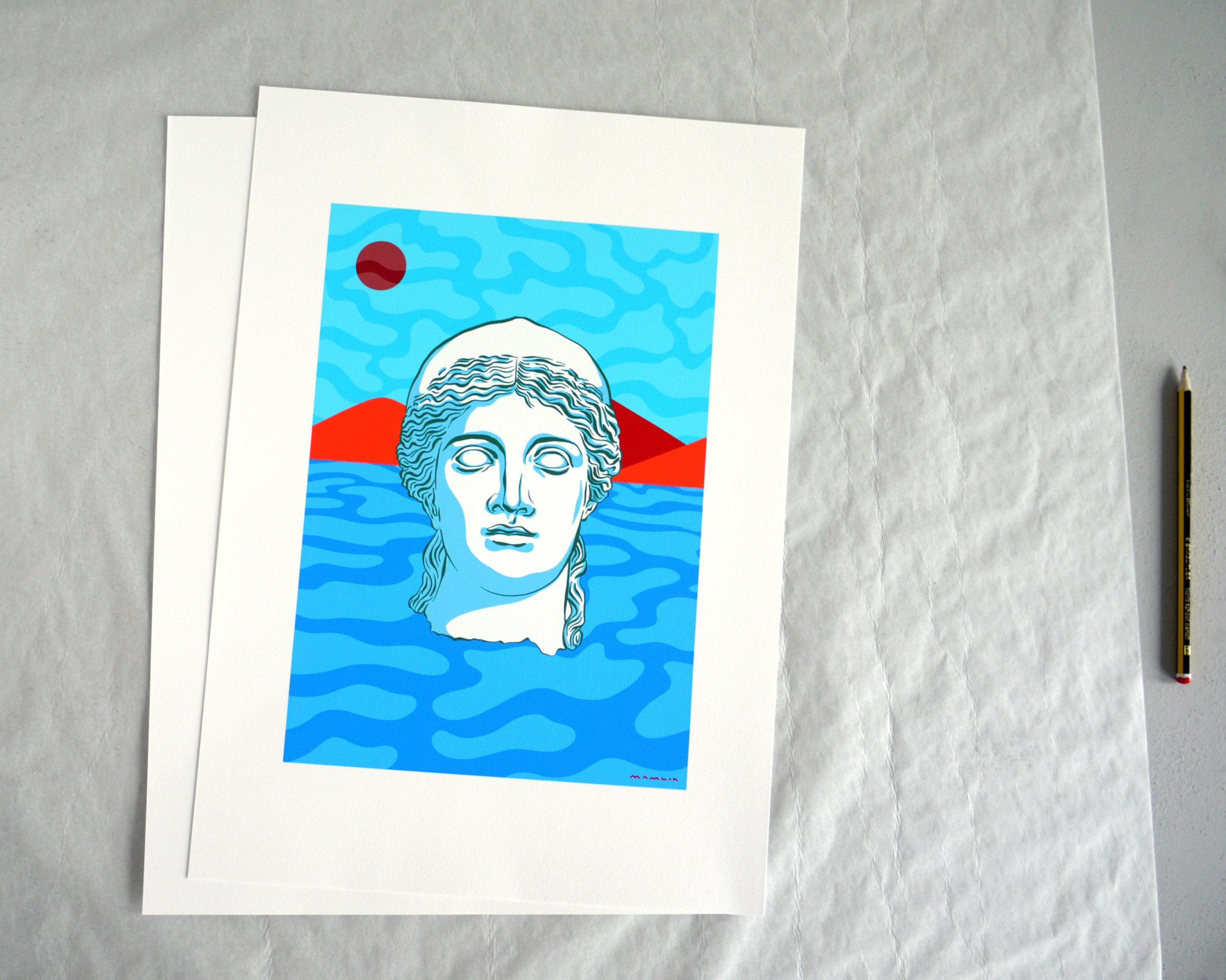 'Petrified'  printed on Hahnemuhle Photo Rag 308gsm