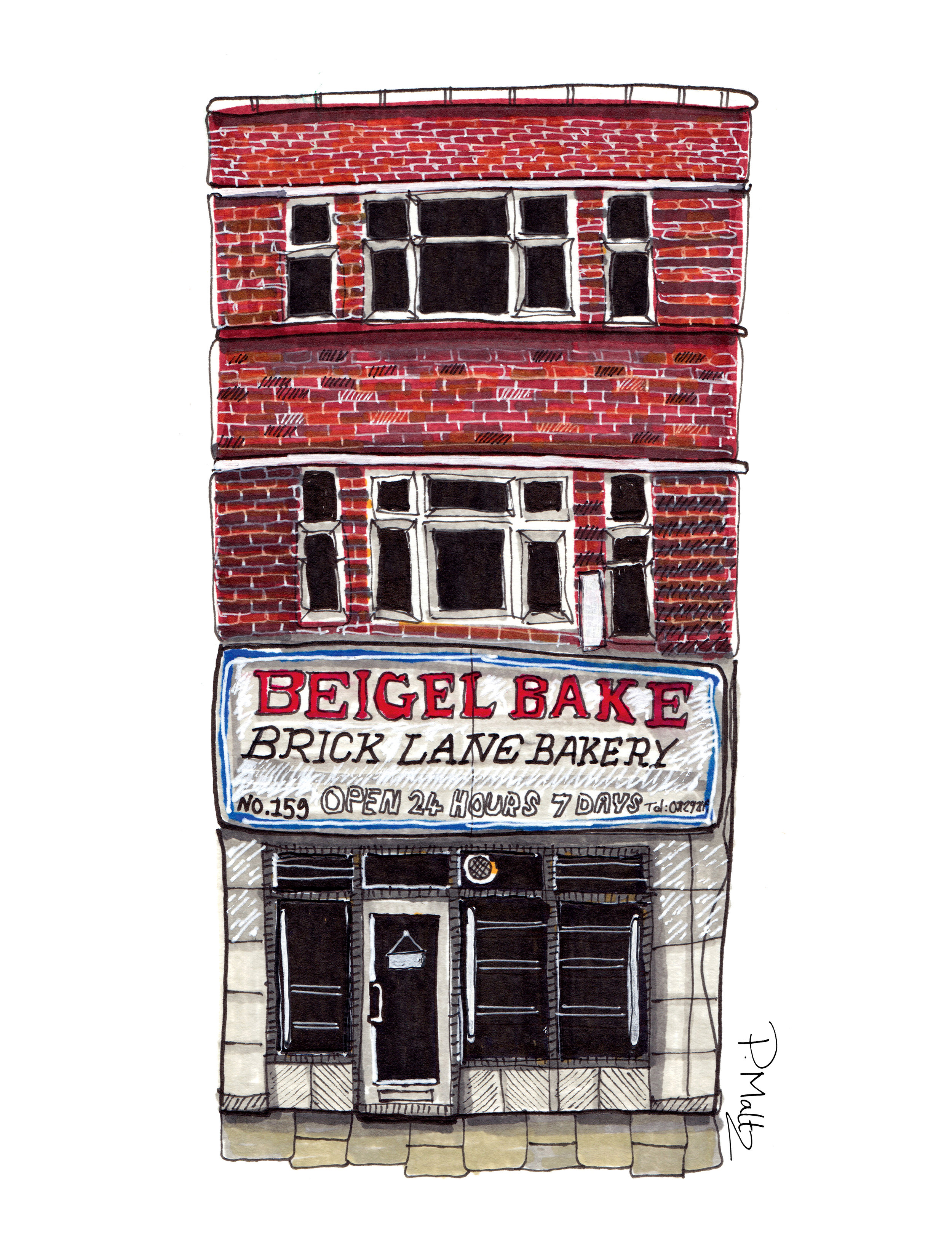 Beigel Bake Brick Lane by Phil Maltz