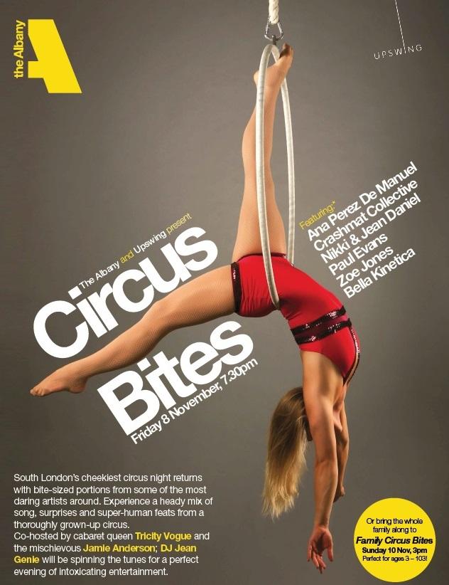 Circus Bites at the Albany Theatre. Photo by Matt Hennem