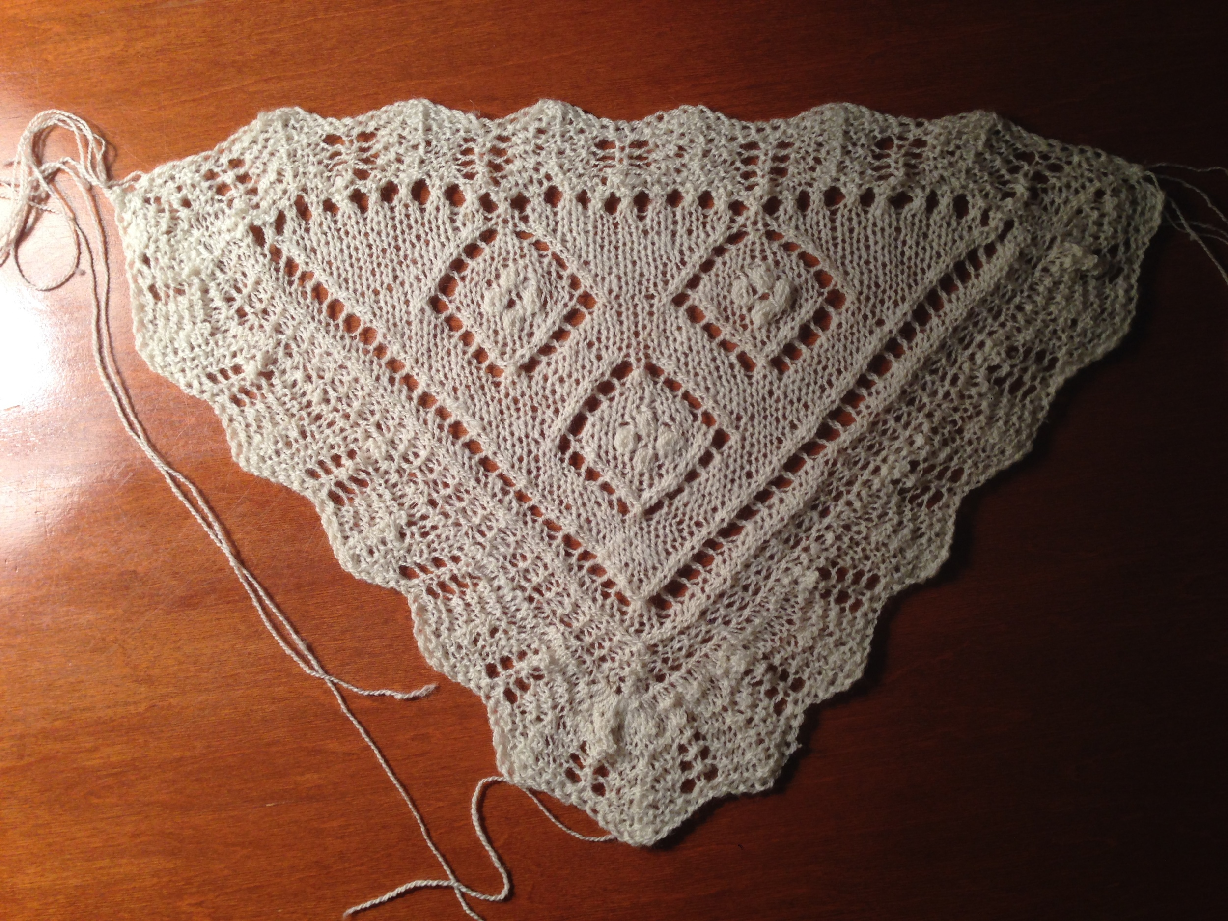 Go ahead, judge my end-weaving procrastination. I can take it.