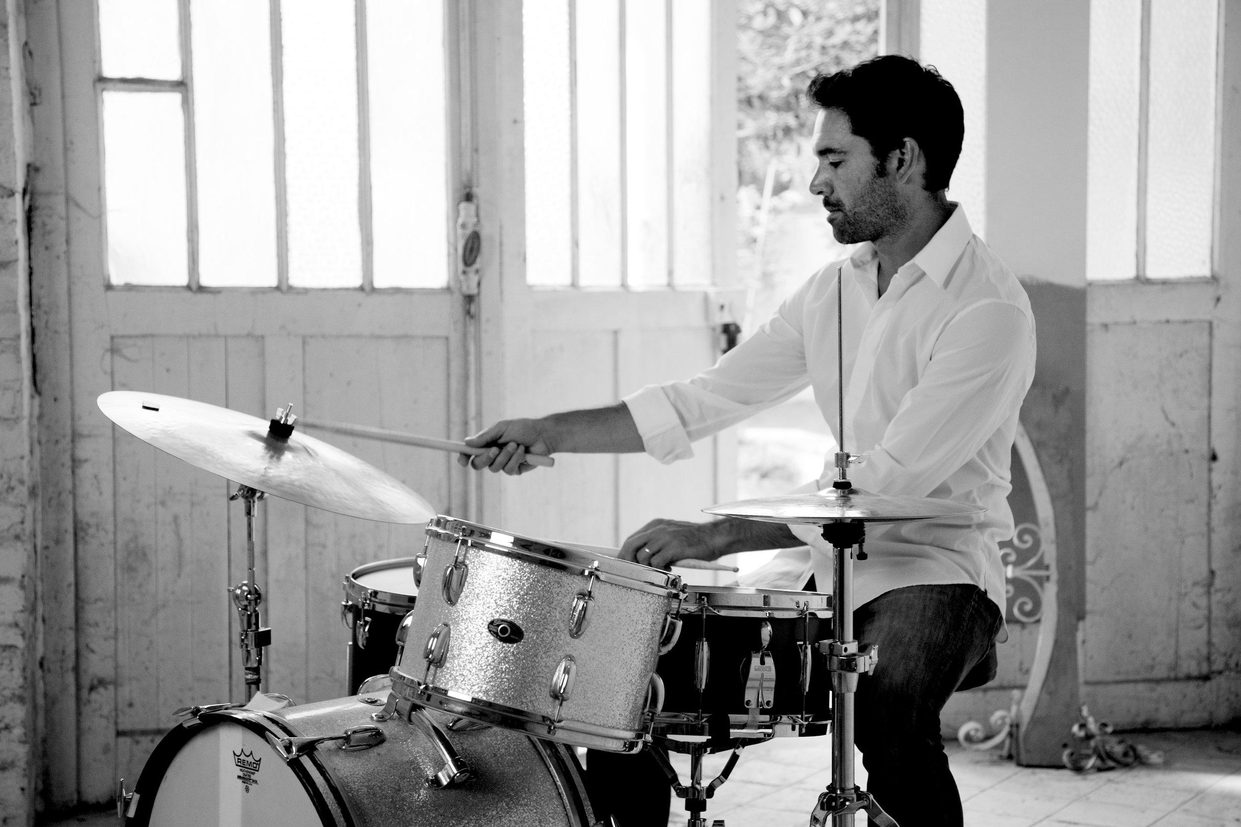Shooting noir et blanc photographie musique