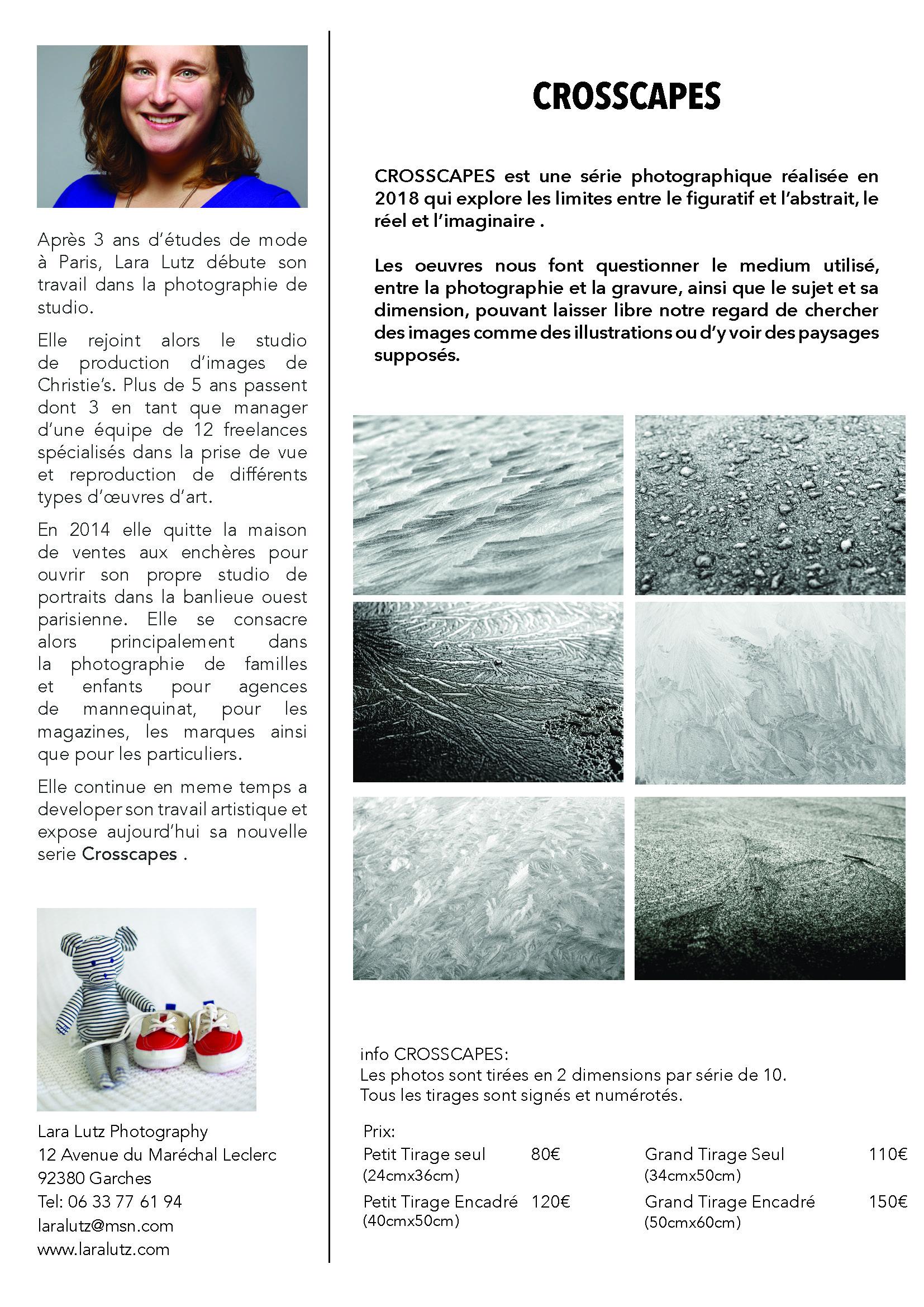 Série photographique noir et blanc Lara Lutz