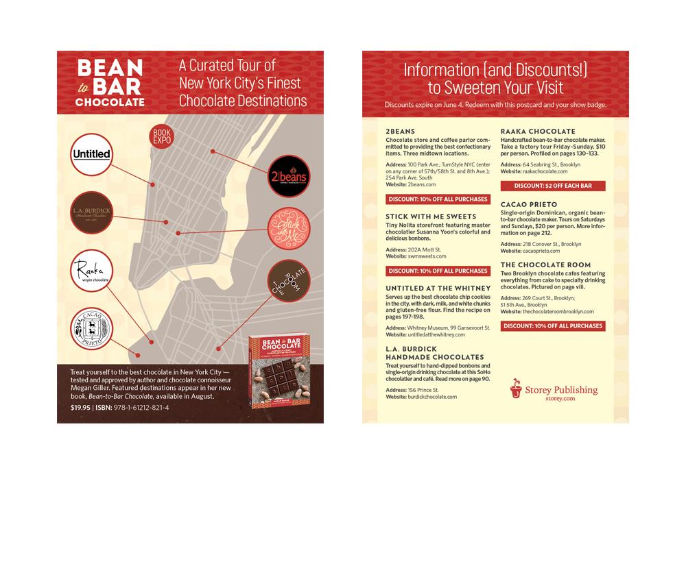 Bean-to-Bar Chocolate Postcard