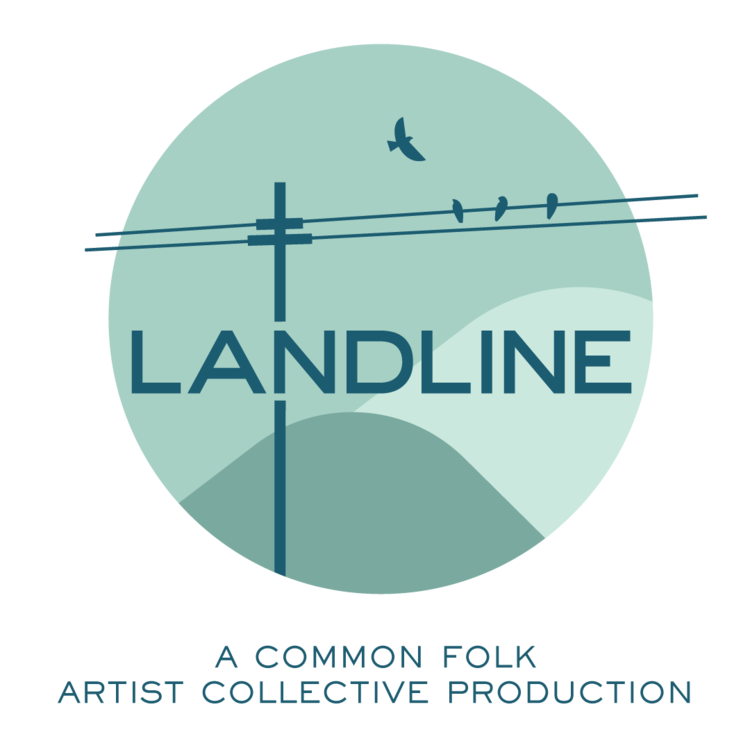 Landline Podcast Logo