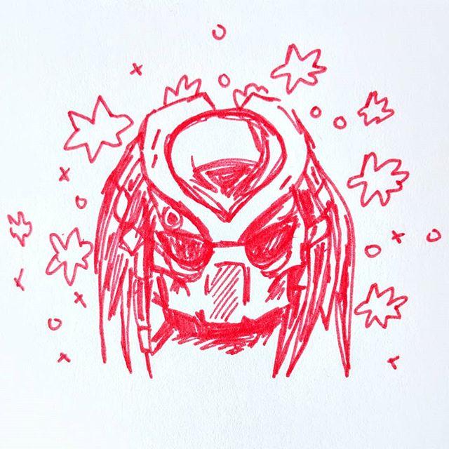#Inktober Day 18: A very important predator.