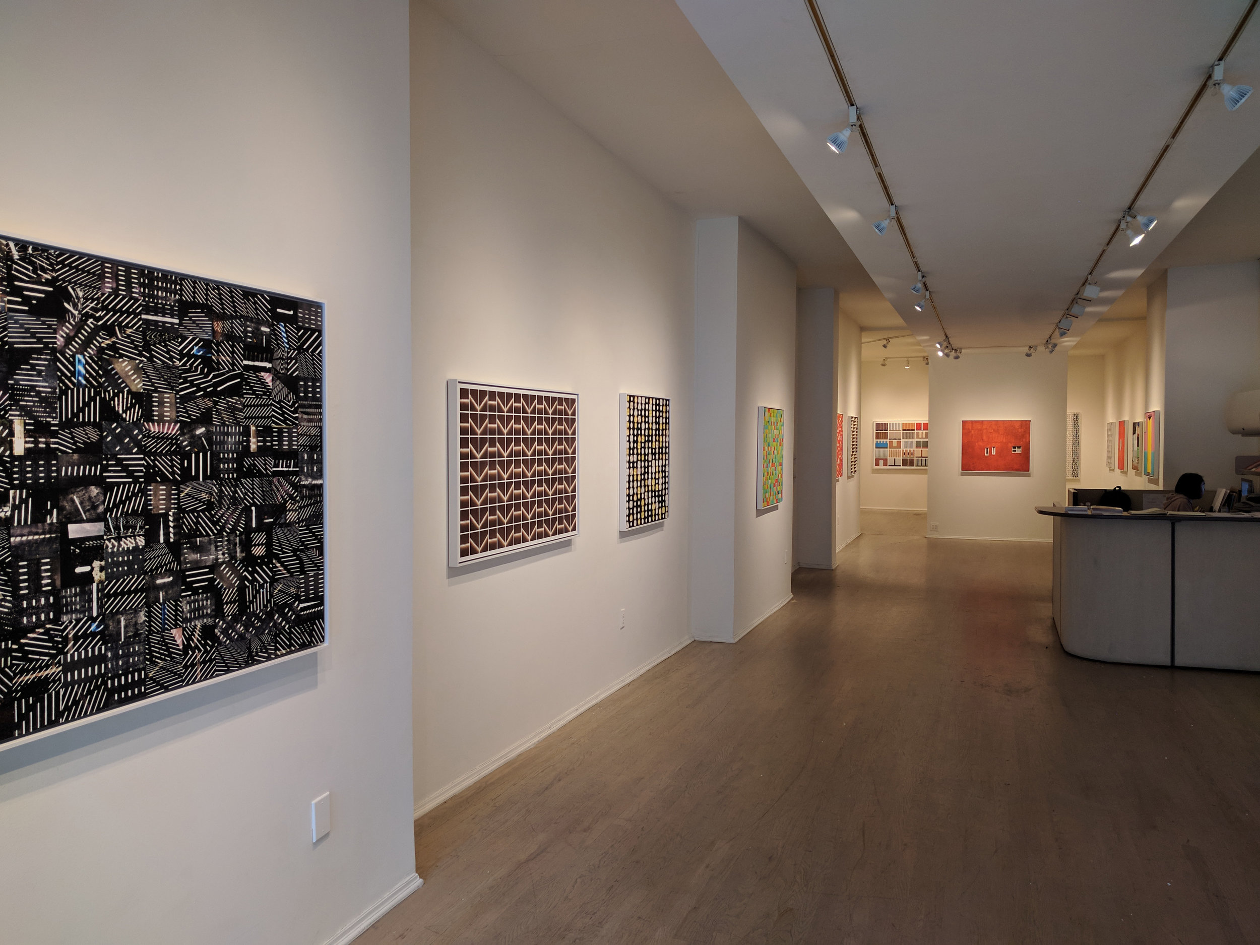 """Structures""   at C. Grimaldis Gallery, Baltimore, MD"