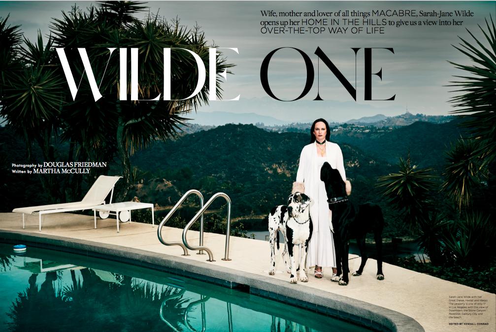Sarah-Jane Wilde x C Home by Douglas Friedman