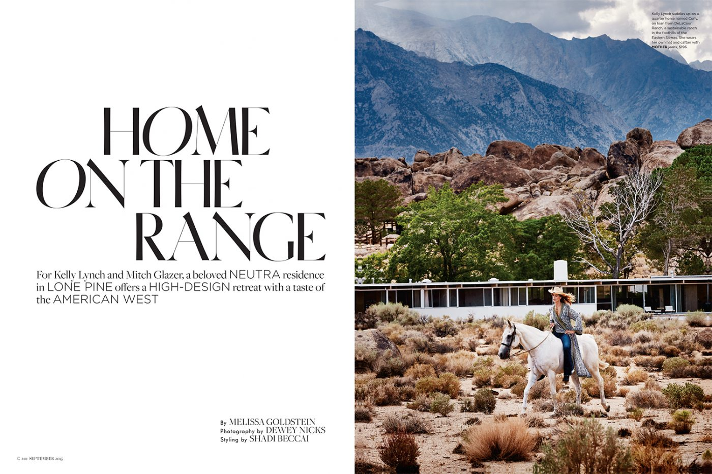 Kelly Lynch & Mitch Glazer x C Home by Dewey Nicks