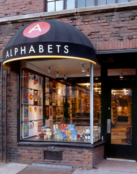 Alphabets Retail Design New York