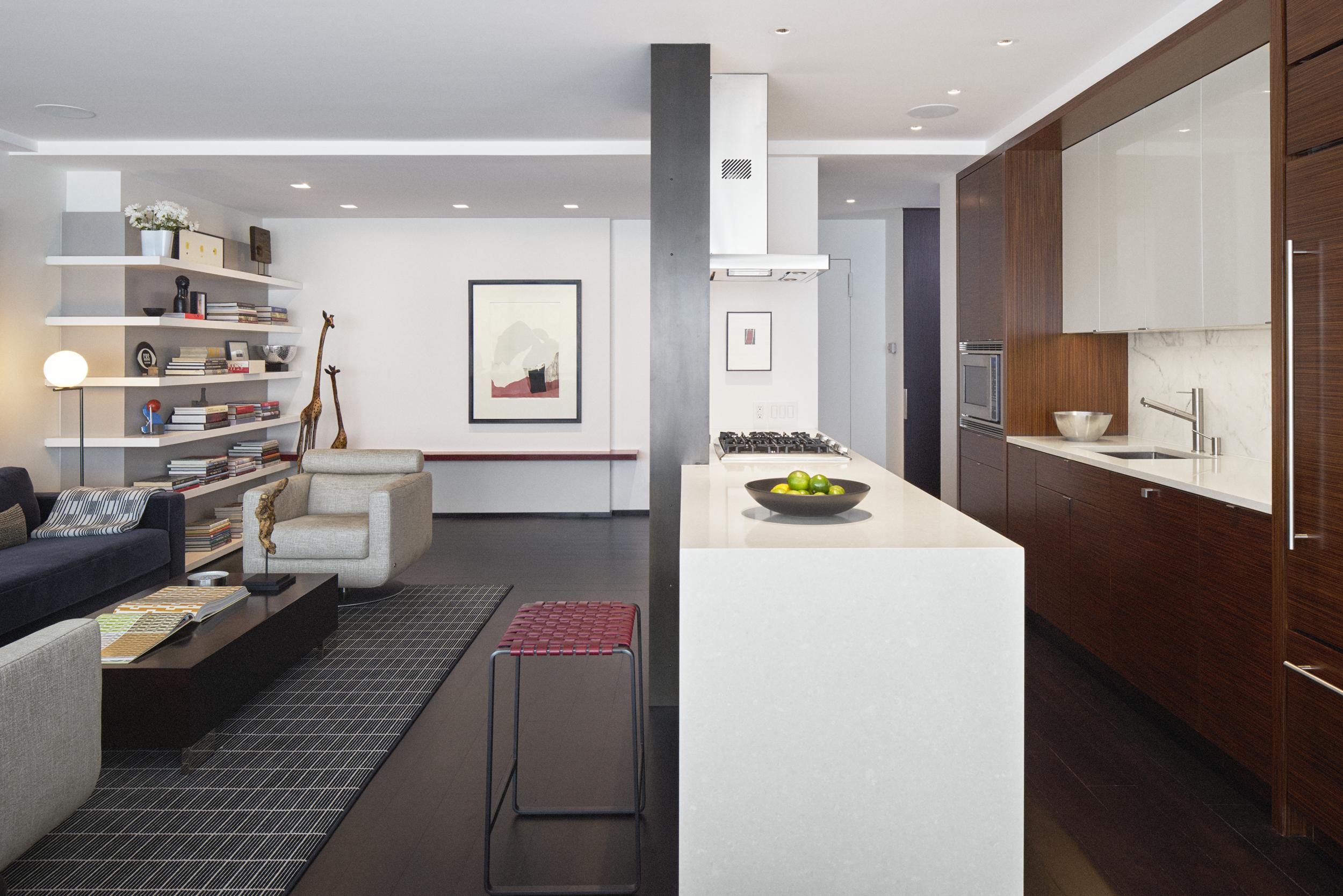 Lincoln Square Residence Kitchen Design