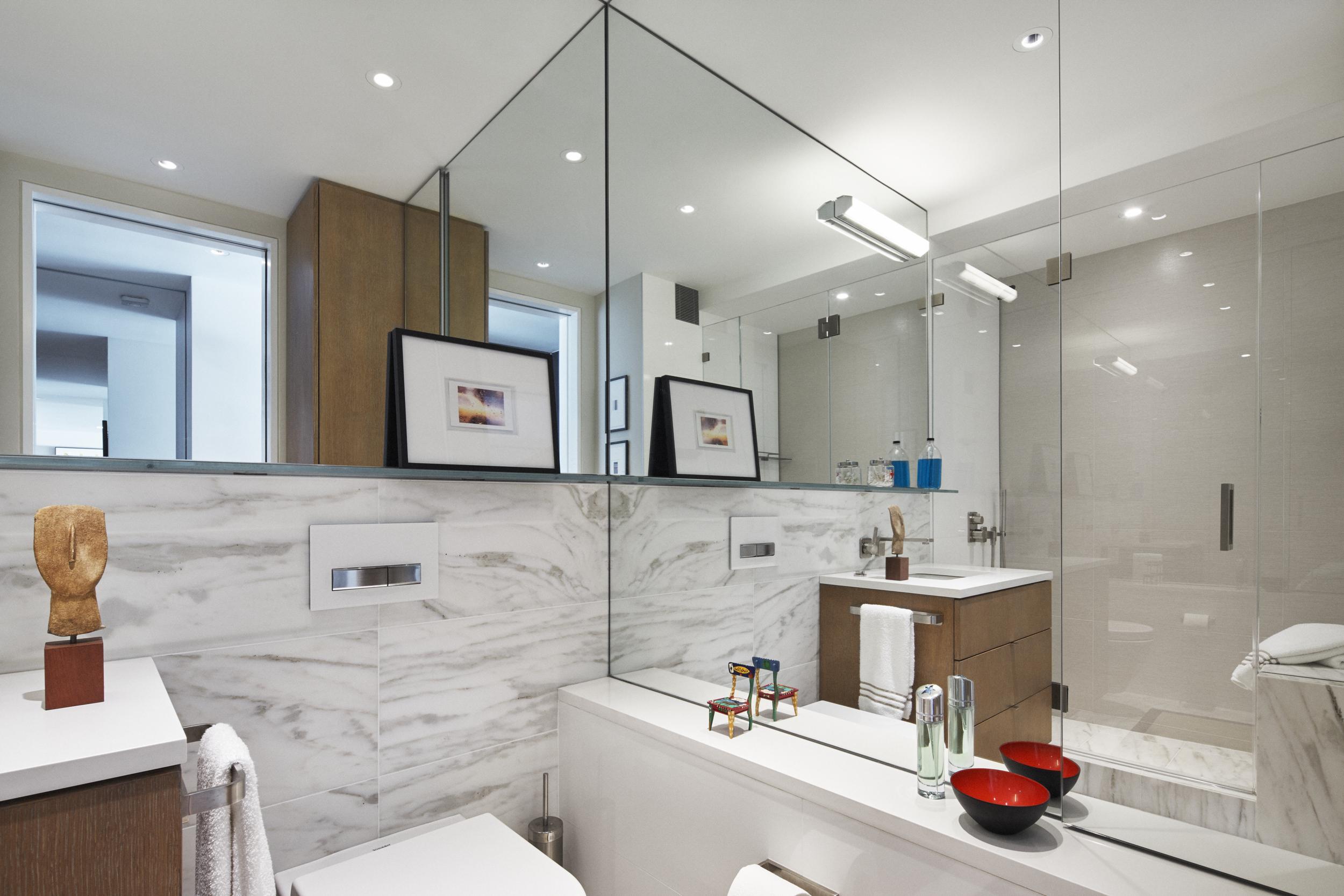 Lincoln Square Residence Bathroom Design