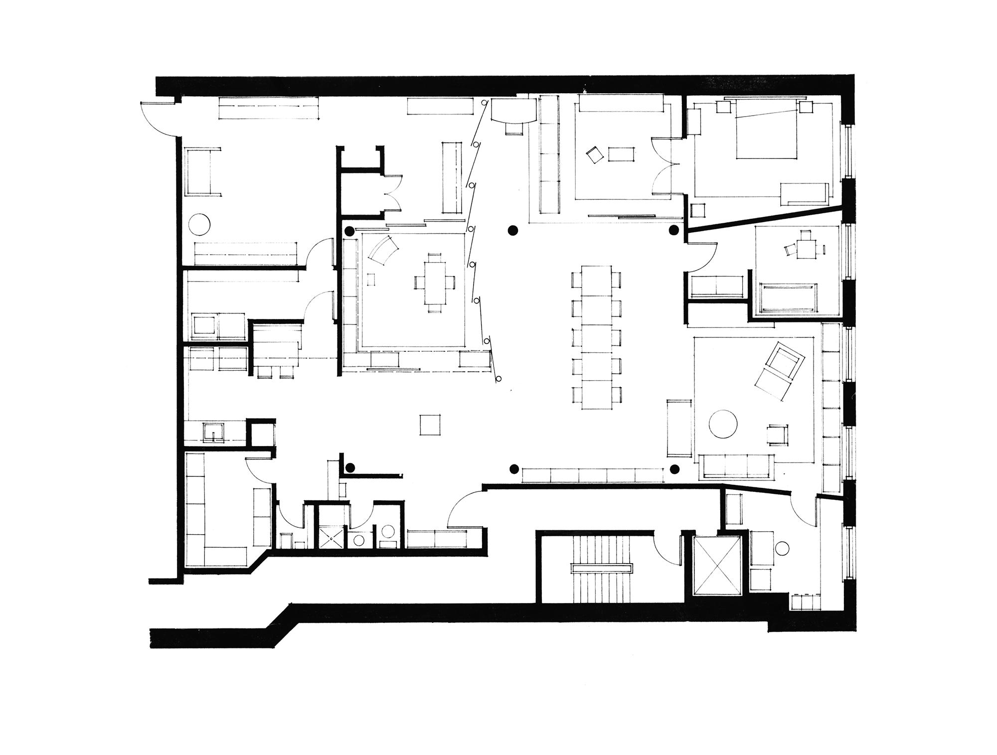 Flatiron Loft Design Hellow Studio