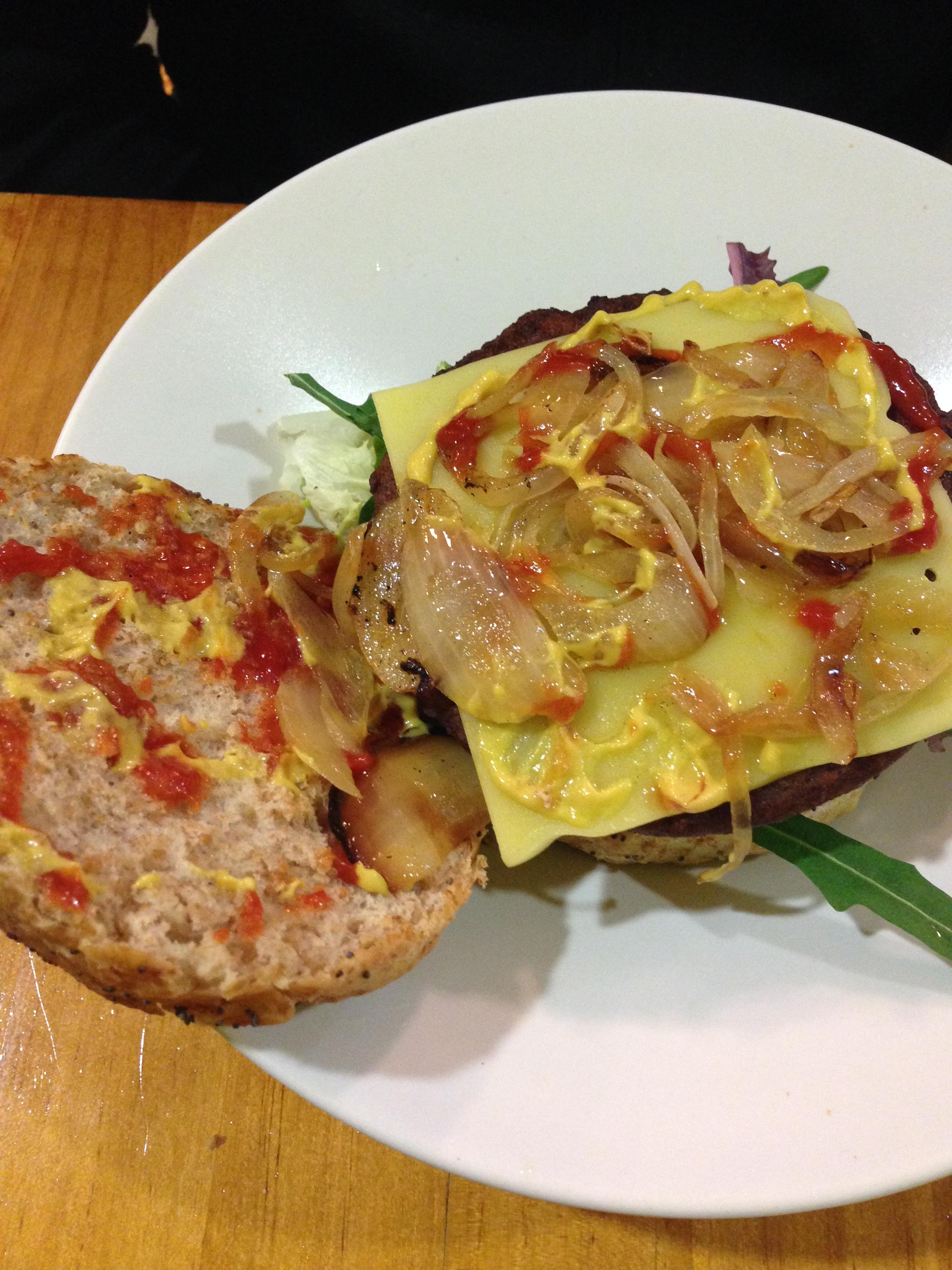 Hamburguesa (Hamburger)