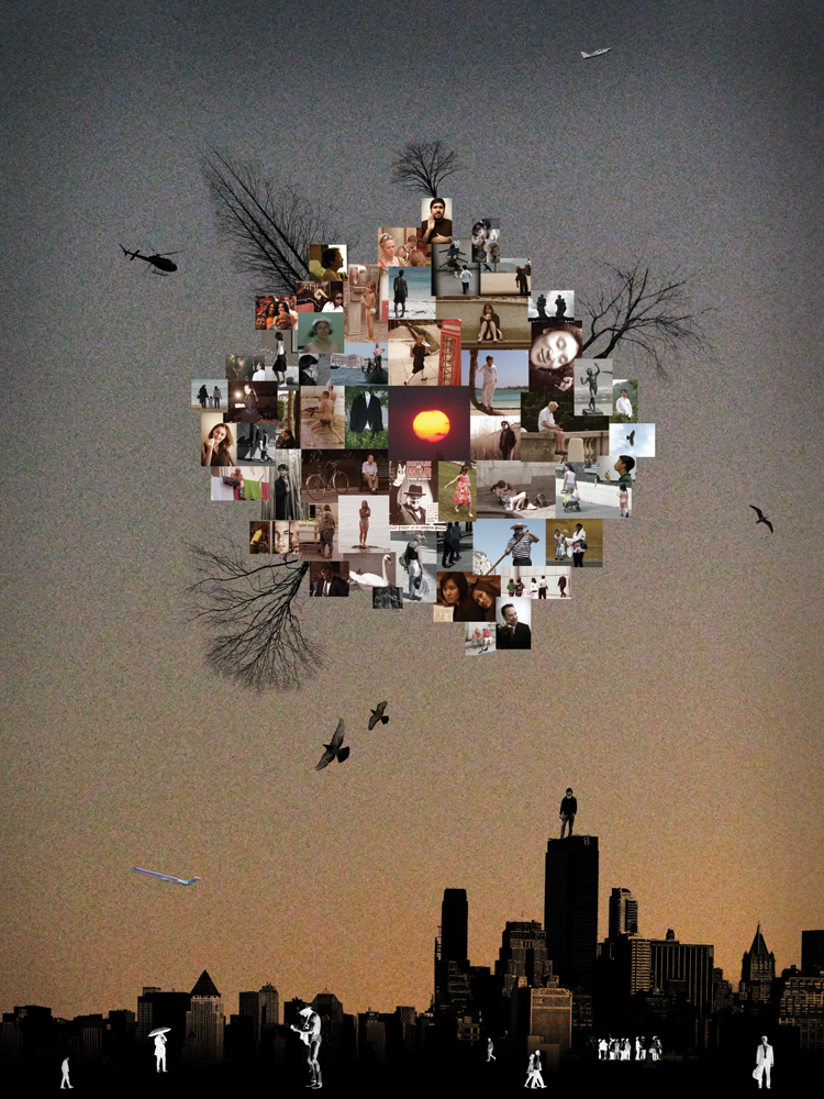 A world in the City II-01(30x40 in)2010