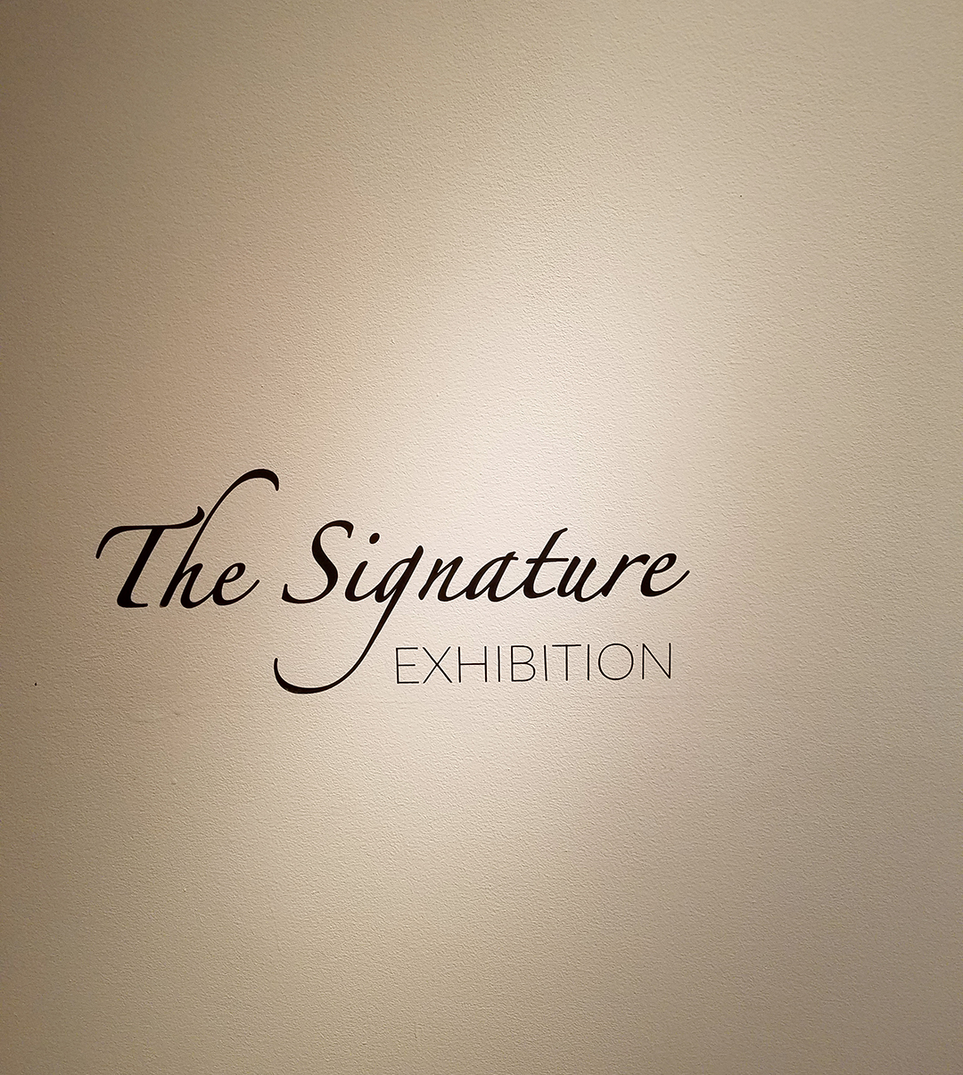 The Signature Exhibition 2018