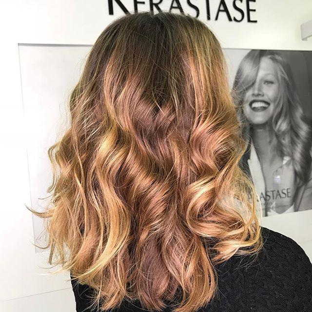 Брондирование густых волос средней длины - 9950₽ #мастер_шишинкова_юлия #инвог_окрашивание #invogue_hair_coloring