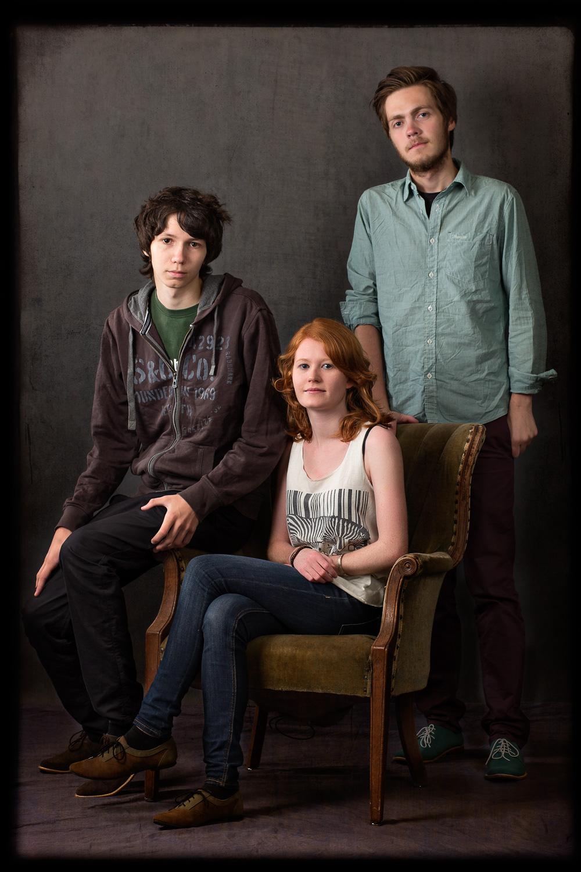 Aron, Mona, and David