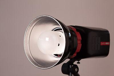 "standard 7"" silver dish reflector"