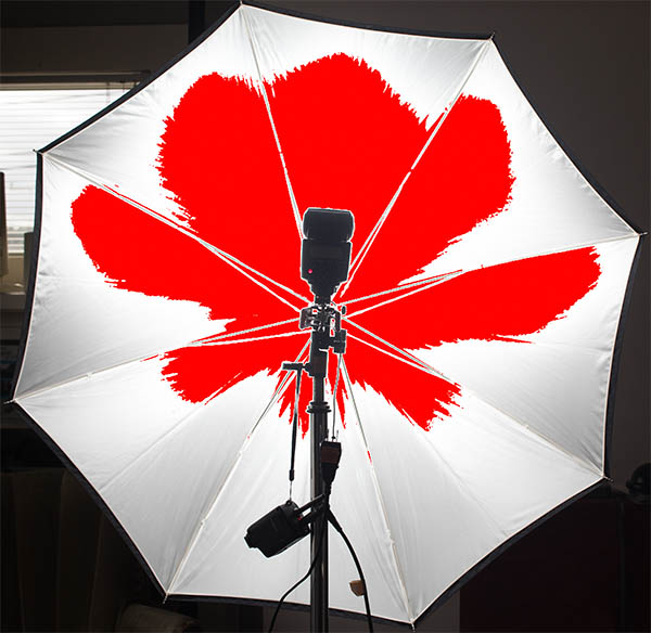 Adding a diffuser dome to the speed light helps it fill the modifier.