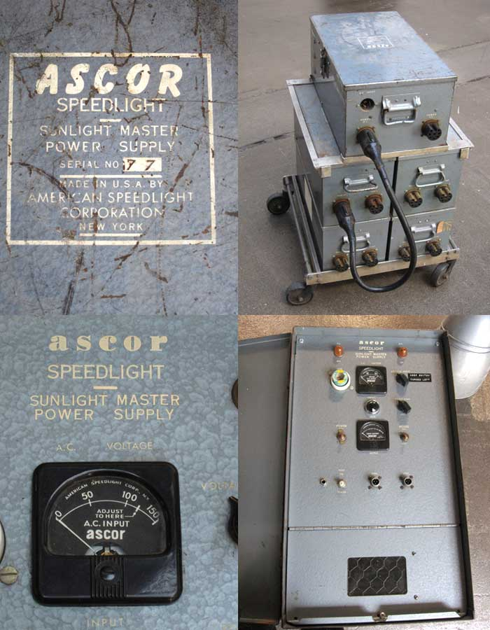 ASCOR A801 power supply with 4 800w-s conders