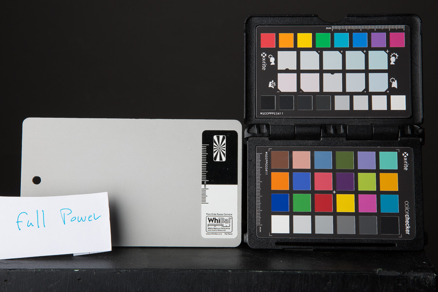 WhiBal and ColorChecker Passport as my test subjects