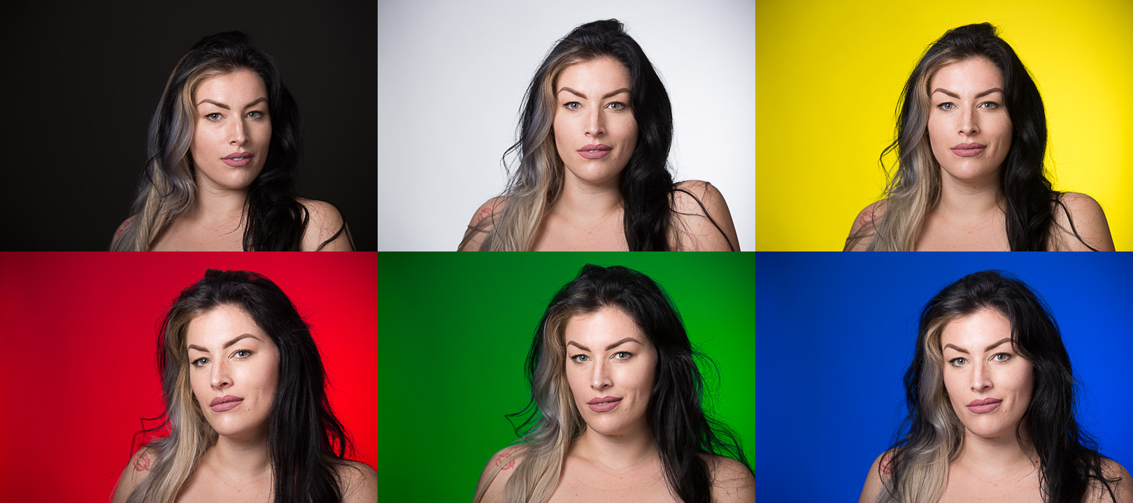 Do you know how to change the color of your background when you take the photo instead of having to do it in post-production?