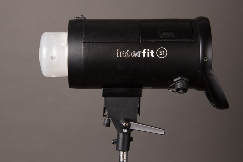 Interfit S1 battery or A/C powered strobe