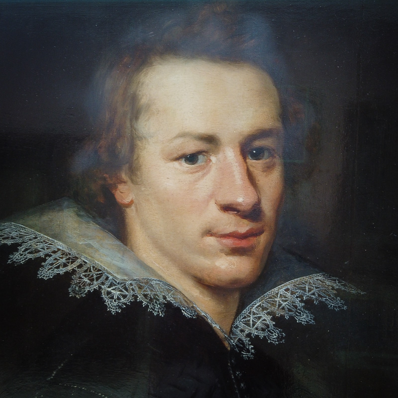 William Drummond by an unknown artist in the Portrait Gallery