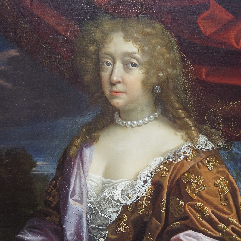 Elizabeth Murray by Benedetto Gennari in the Portrait Gallery
