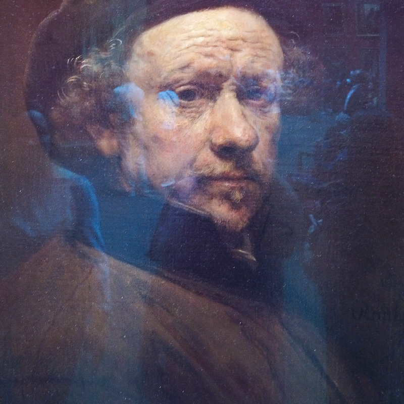 Rembrandt self portrait in the National Gallery