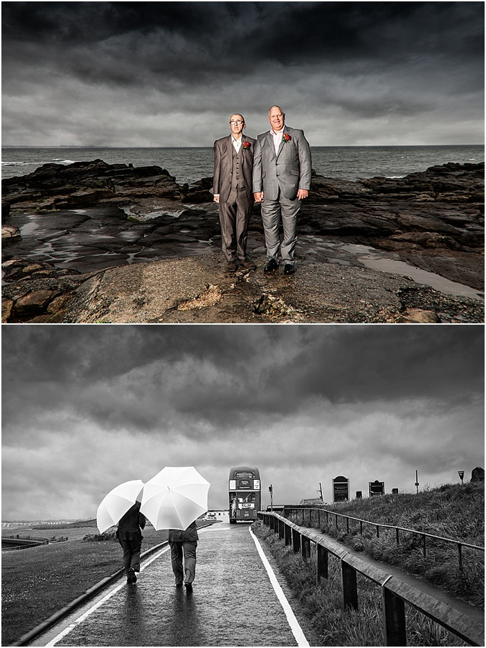 st marys lighthouse wedding photography