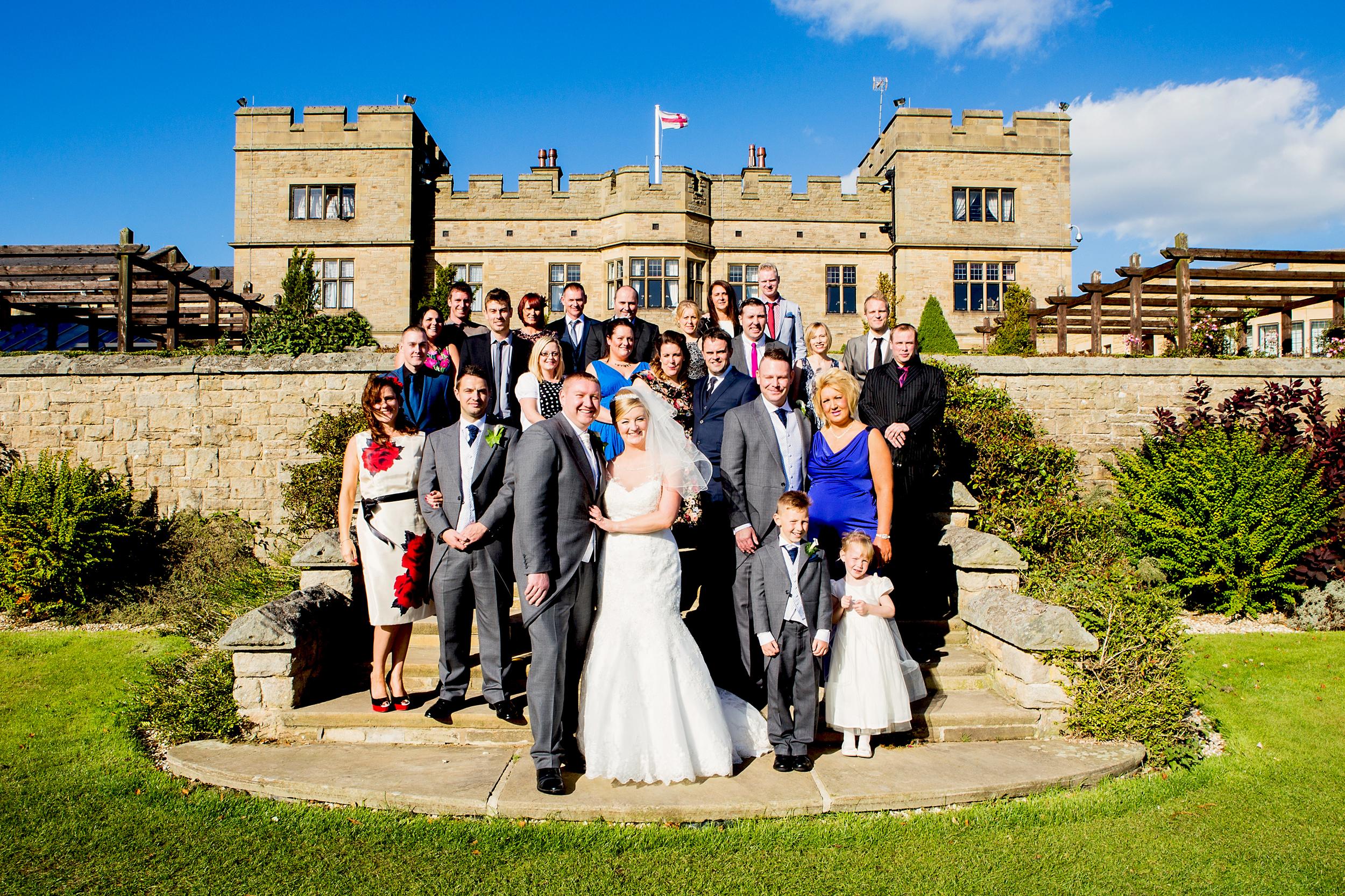 slaley hall wedding photos