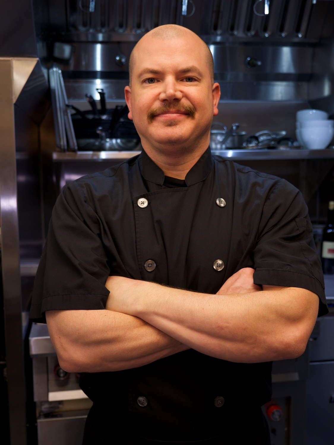 Jim, the chef at Liquid Assets, a local favorite restaurant and wine bar, and wonderful client. Just wait until you see their new web page… coming soon!