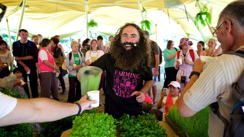 ABC's Gardening Australia host at a world congress festival
