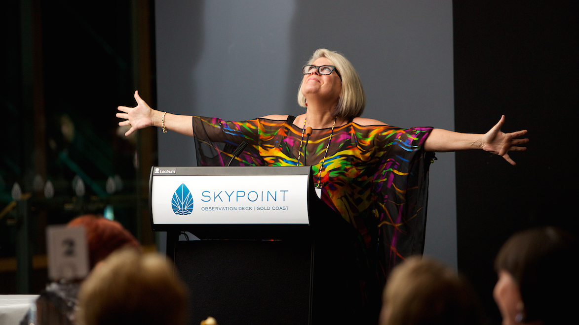 Gold Coast corporate gala event at Q1 Skypoint