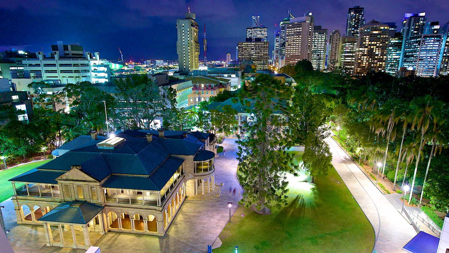 Brisbane Skyline, commercial photography by Photographer at Large