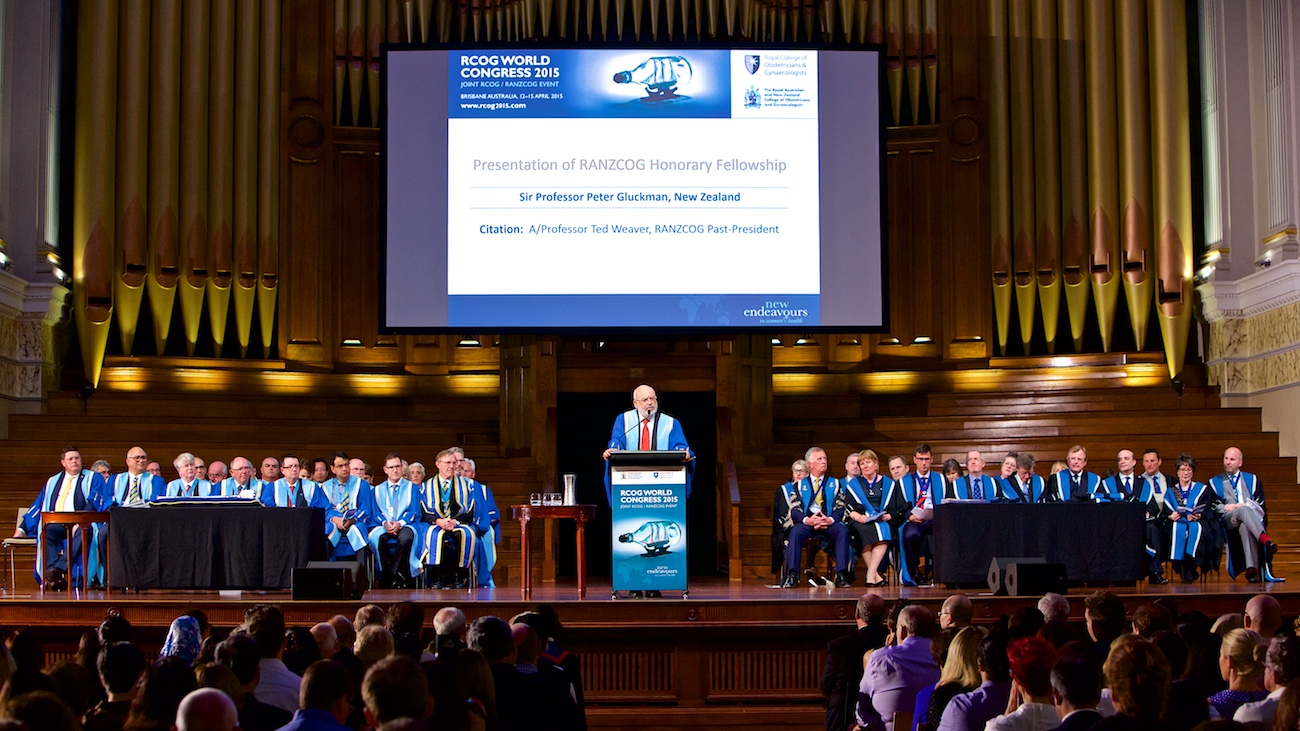 Brisbane City Hall medical graduation ceremony