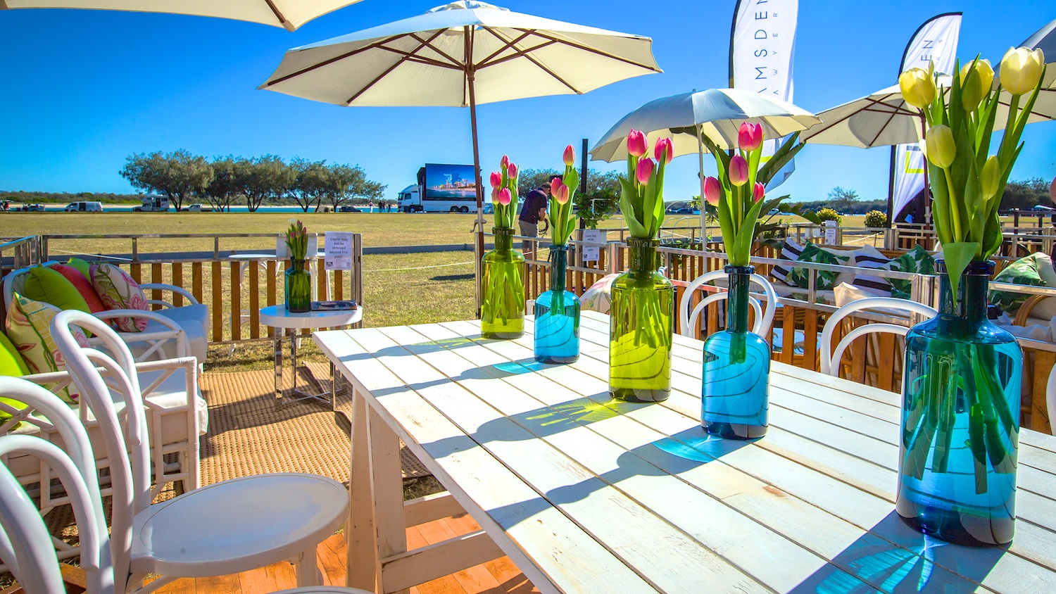 Brisbane commercial photographer for event furniture and decor hire