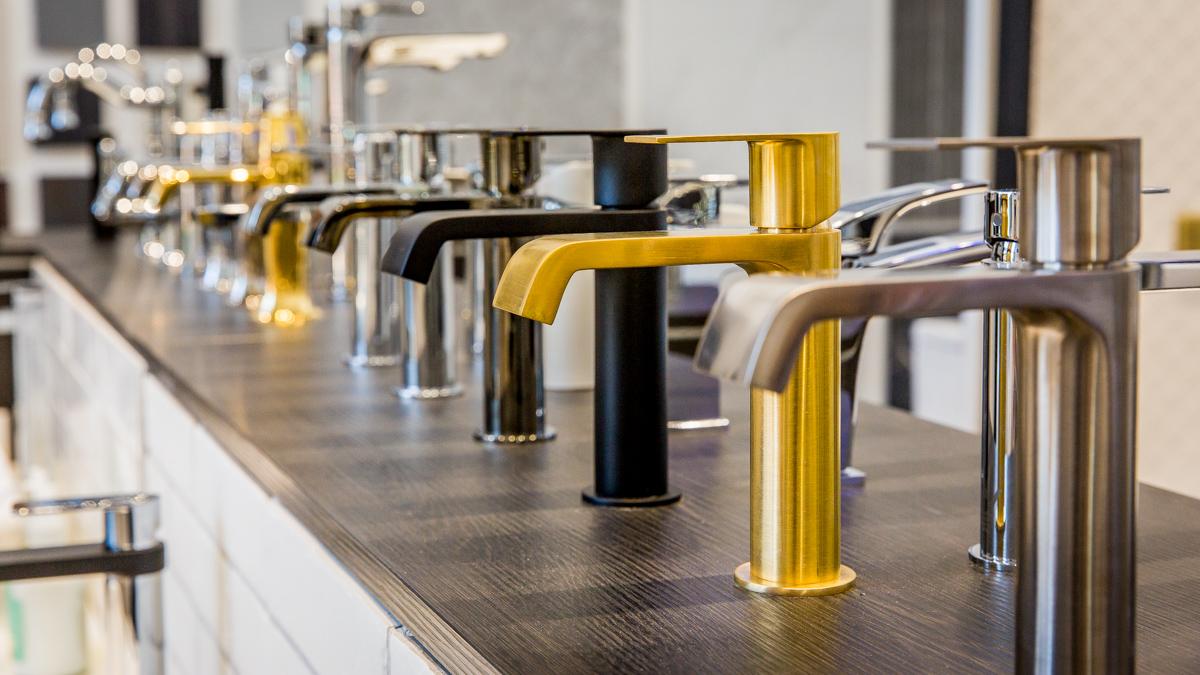 Brisbane Commercial Photographer Beaumont Tiles tap ware